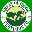 Great Outdoor Provision Co. Logo + Home Page Link