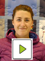 Image with Play Button of Abby Butterfield giving video testimonial of dtWFA course