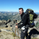 Picture of Matt Rosefsky leading hiking and backpacking in Alpine Lakes Wilderness
